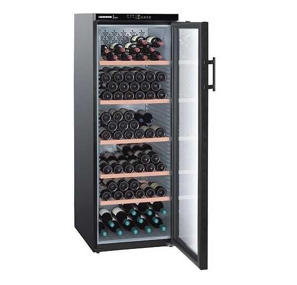 Armoire vin wtb4212chr liebherr achat vente cave vin liebherr 201 bouteilles negoce chr - Cave a vin liebherr wk201 ...