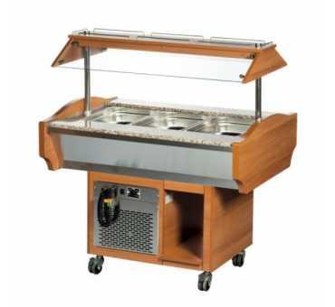 ARISCO - Buffet réfrigéré 3 x Gn 1/1 - SBM3C
