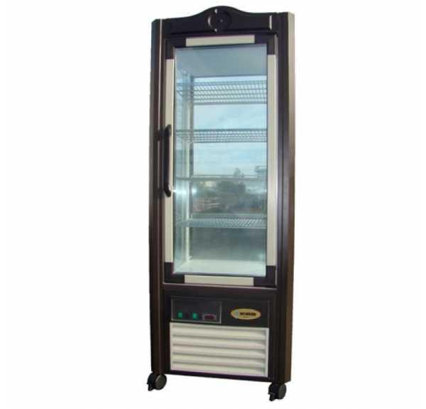 SCAIOLA - Vitrine réfrigérée ventilée vitrée