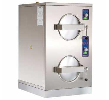 BONNET - Cuiseur vapeur haute pression 2 x 3 Gn 1/2 - B1CP11D