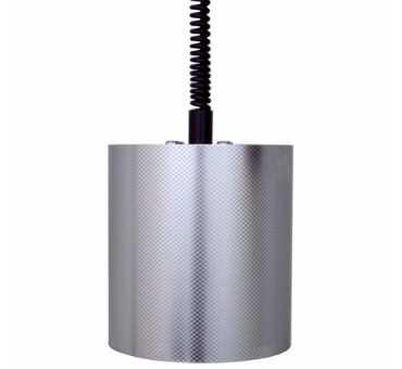 SOFRACA - Lampe infra-rouge ronde inox - 33002INOX