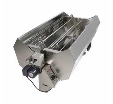 ELETTROGRILL - Tourne broche électrique mobile pour volailles et cochons - ART SP