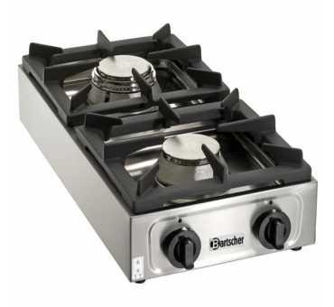 BARTSCHER - Réchaud à gaz à 2 feux vifs - 1057503