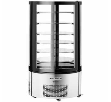 Vitrine à gâteaux réfrigérée 400L Bartscher - Froid ventilé +2°C/+10°C