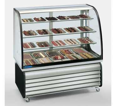 Vitrine pour Chocolats 450 L avec Froid ventilé +14°C/+16°C Tecfrigo