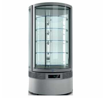 DIAMOND - Vitrine cylindre ventilée 790 L +2°C /+10°C- RON/79AV