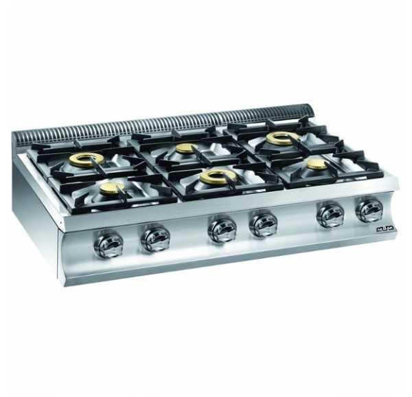 cuisson mbm 6 feux vifs g6s77 | achat / vente réchaud gaz