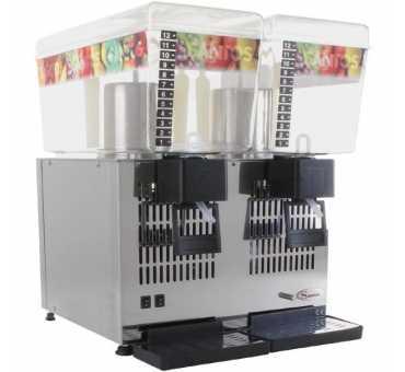 SANTOS - Double distributeur de boissons réfrigérées 2x12L - K280