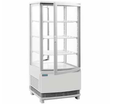 POLAR - Vitrine réfrigérée 86L portes incurvées - CB507