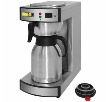 Machine à café pro avec pichet thermos 1,9 L - Buffalo