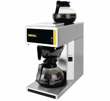 Machine à café professionnelle avec pichet en verre 1,8L Buffalo - G108