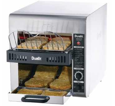DUALIT - Toaster à convoyeur double - J416