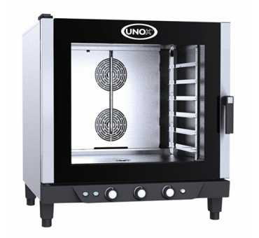 UNOX - Four ventilé 6 niveaux 600 x 400 mm - BakerLux - XB693