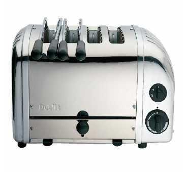 DUALIT - Grille-pain combiné 2 + 2 fentes - L139