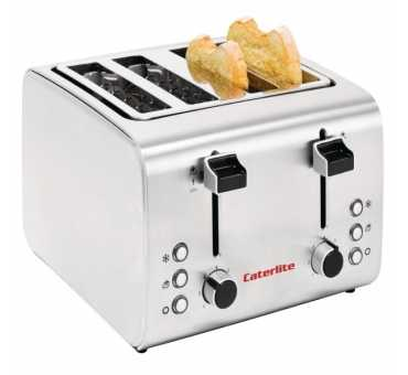 CATERLITE - Grille-pain 4 tranches - GH439
