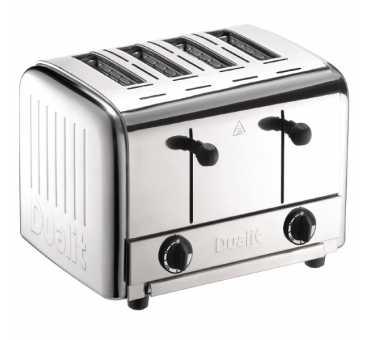 DUALIT - Grille-pain traiteur 4 fentes - DK840