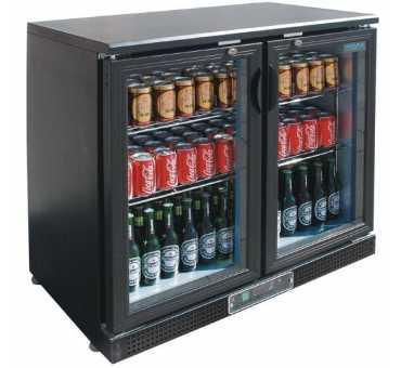 POLAR - Arrière bar 2 portes / 168 bouteilles - CF759