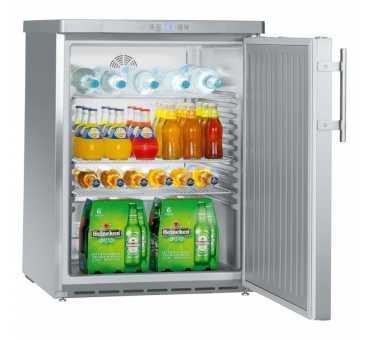 LIEBHERR - Armoire positive ventilée inox 141 litres - FKUV1660