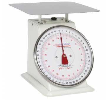 WEIGHSTATION - Balance mécanique de cuisine professionnelle 20 kg - F175