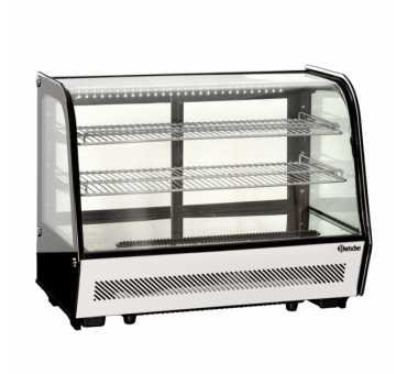 BARTSCHER - Mini vitrine de comptoir réfrigérée et vitrée 160 litres - 700203G