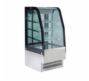 Vitrine réfrigérée vitrée bombée 430 Litres
