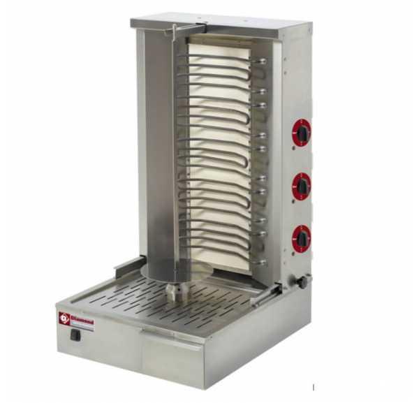 DIAMOND - Gyros grill électrique 55 Kg - KEB-E80