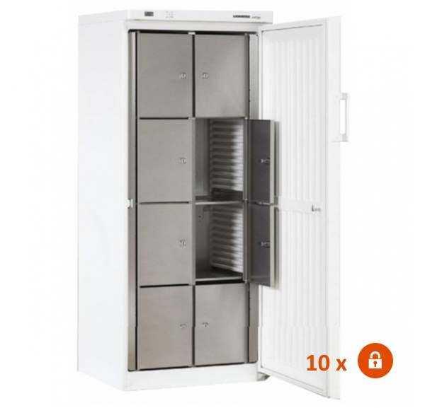 Armoire réfrigérée 10 casiers avec Cadenas Liebherr ACC544-10