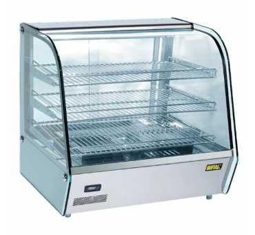 BUFFALO - Vitrine chaude +30/+90°C - 120 litres - CD231