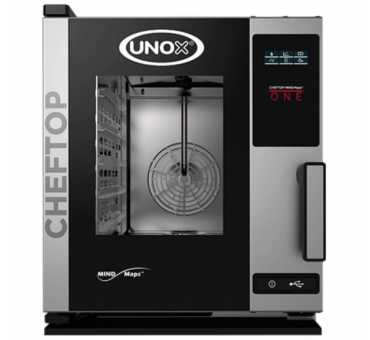 UNOX - Petit four mixte professionnel 5 niveaux Gn 2/3 - ChefTop One