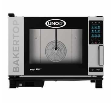UNOX - Four mixte BakerTop Plus 4 niveaux 600 x 400mm - XEBC-04EU-EPR