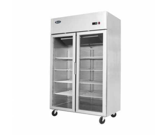 Armoire Réfrigérée Vitrée pour Restaurant et Libre-Service