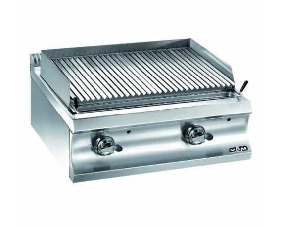 Grill Charcoal - Grill A Pierres De Lave Professionnel Pour Restaurant