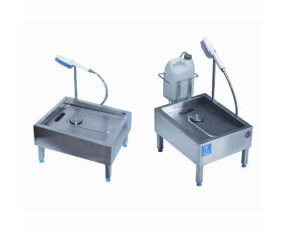 Lave Bottes Electrique & Manuel Inox - Lave Semelles Agroalimentaire
