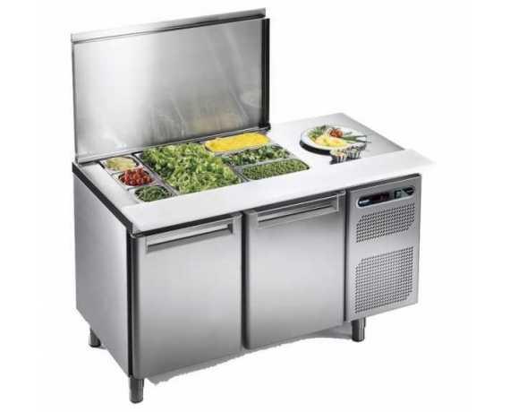 Saladette, Table, Soubassement Réfrigérés pour Restaurants