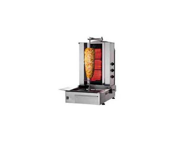 Grill Kebab Professionnel Electrique Et Gaz - Machine A Kebab Pro